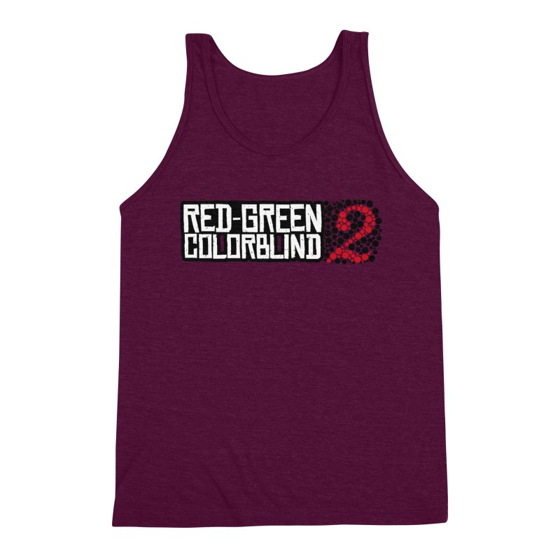 Red Green Colorblind 2 Men's Triblend Tank by HIDENbehindAroc's Shop
