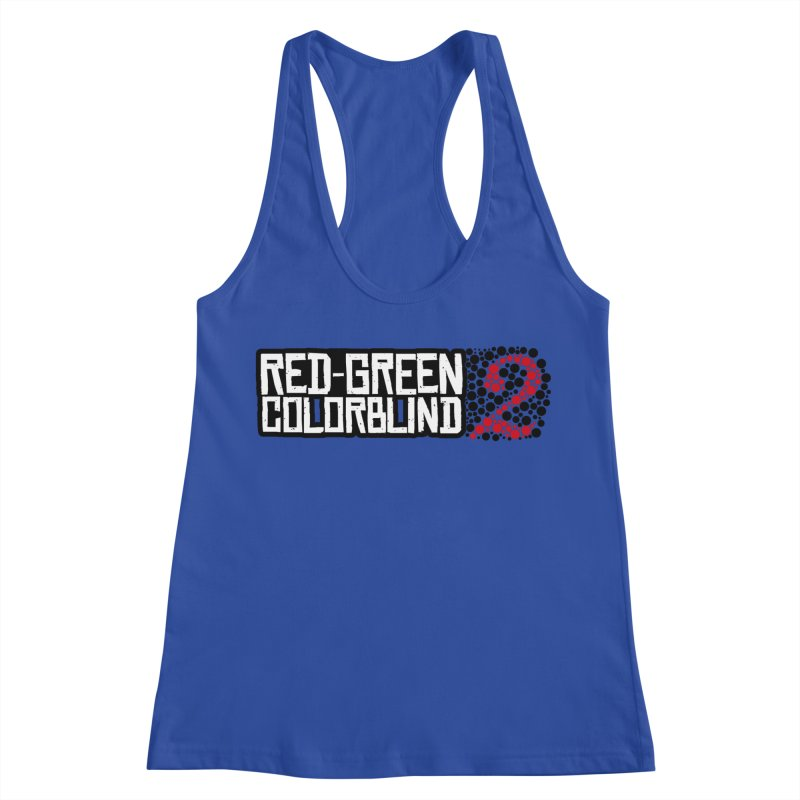 Red Green Colorblind 2 Women's Racerback Tank by HIDENbehindAroc's Shop
