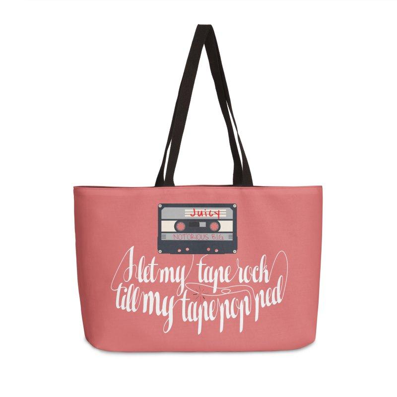 Juicy by BIG Accessories Weekender Bag Bag by HIDENbehindAroc's Shop