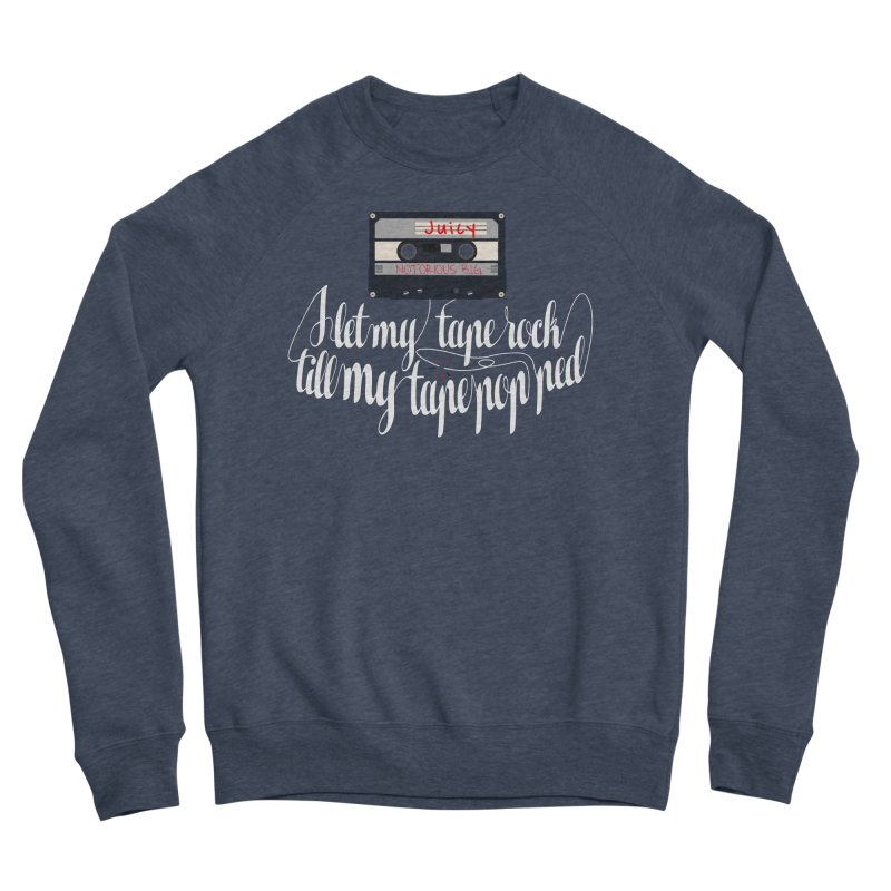 Juicy by BIG Men's Sponge Fleece Sweatshirt by HIDENbehindAroc's Shop