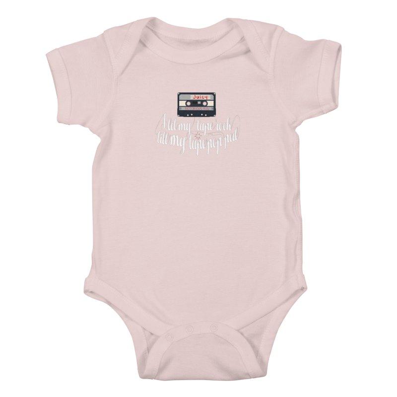 Juicy by BIG Kids Baby Bodysuit by HIDENbehindAroc's Shop