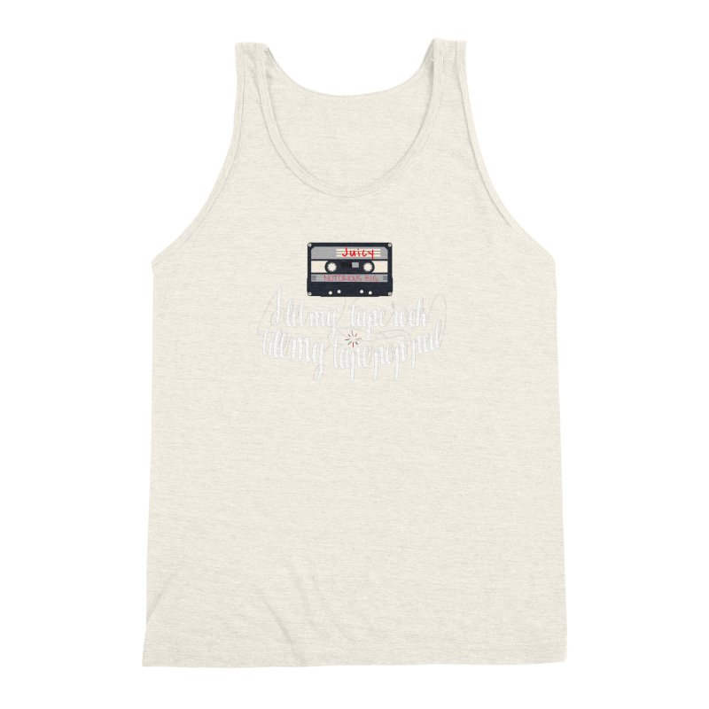 Juicy by BIG Men's Triblend Tank by HIDENbehindAroc's Shop