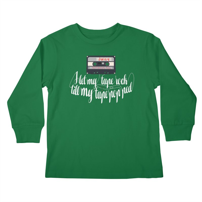 Juicy by BIG Kids Longsleeve T-Shirt by HIDENbehindAroc's Shop