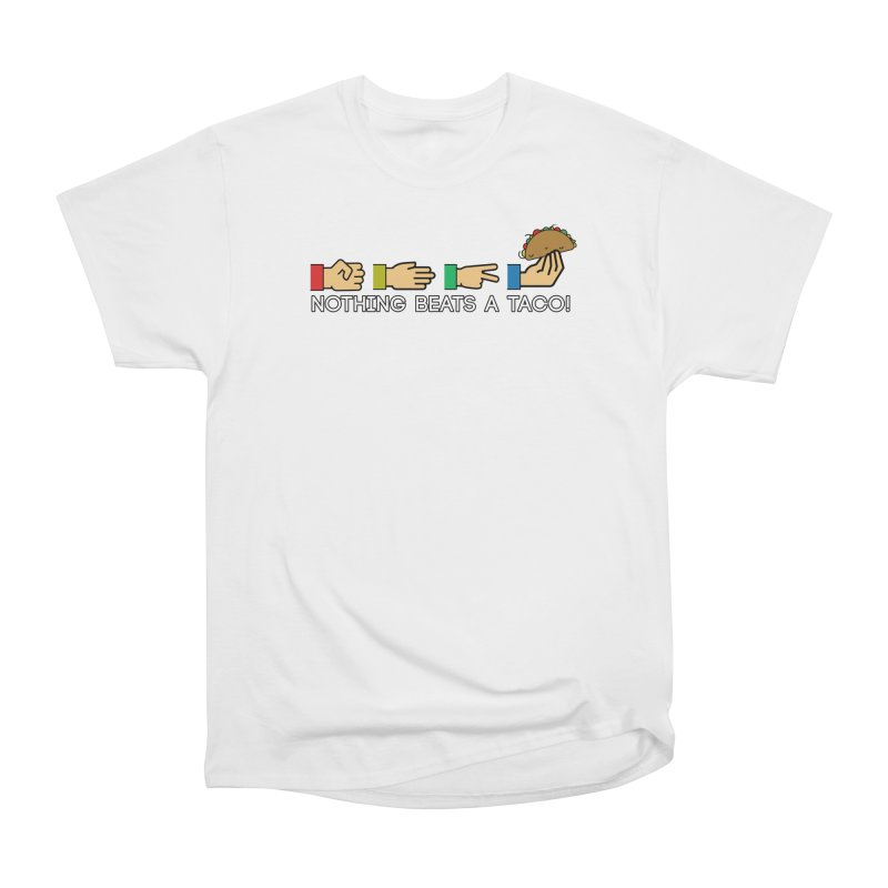 Rock Paper Taco Women's T-Shirt by HIDENbehindAroc's Shop