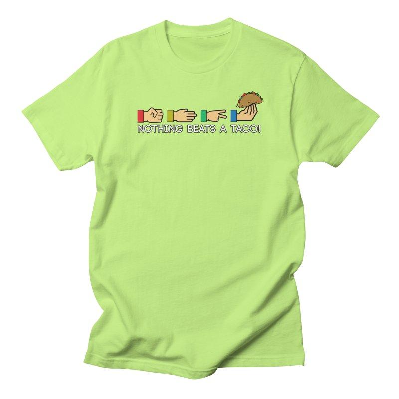 Rock Paper Taco Women's Regular Unisex T-Shirt by HIDENbehindAroc's Shop