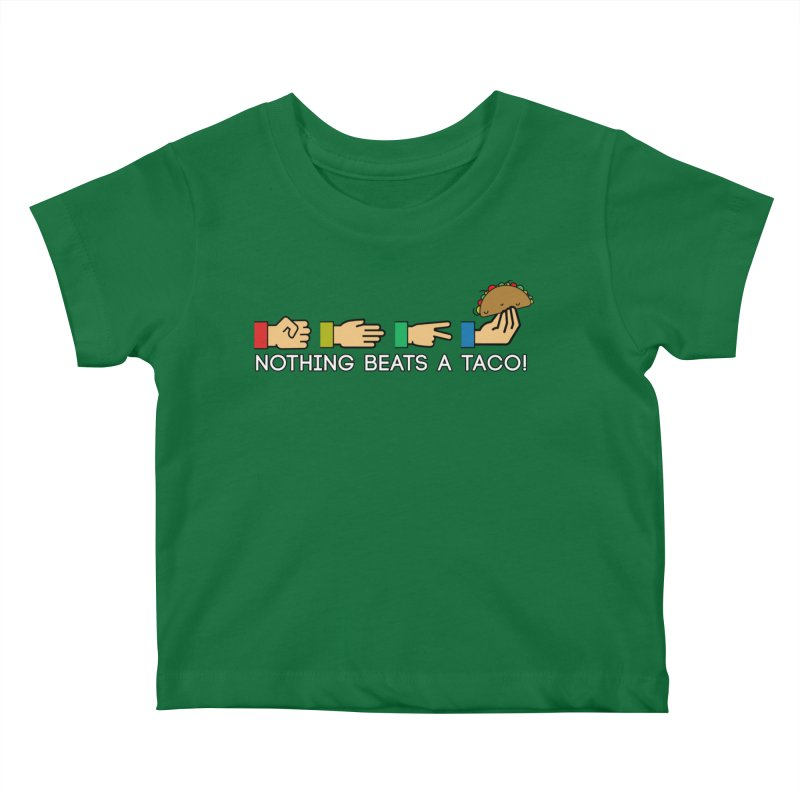 Rock Paper Taco Kids Baby T-Shirt by HIDENbehindAroc's Shop