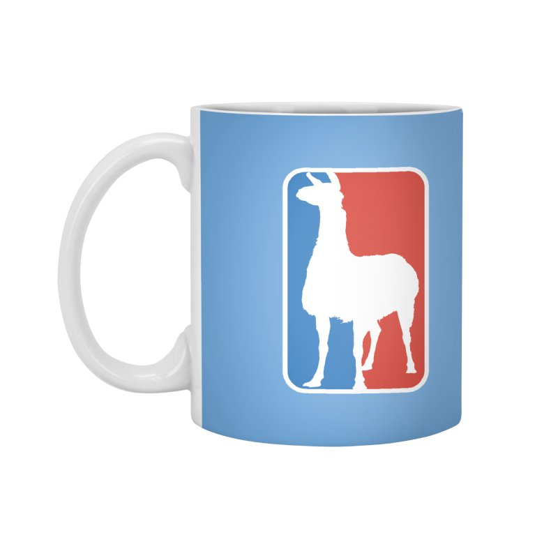Llama Players Accessories Mug by HIDENbehindAroc's Shop