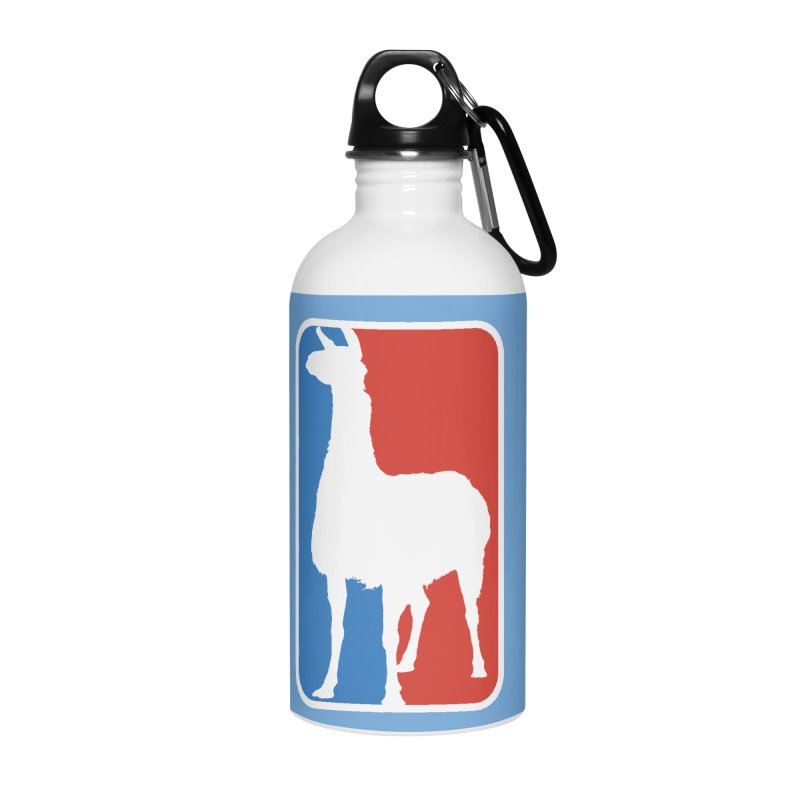 Llama Players Accessories Water Bottle by HIDENbehindAroc's Shop