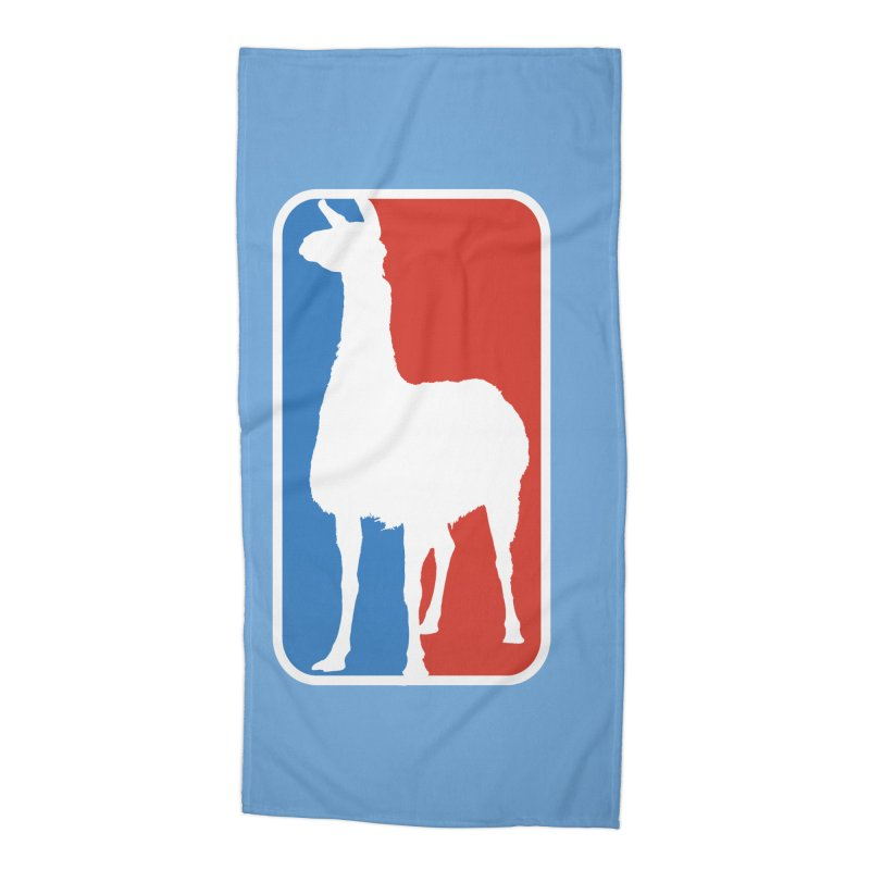 Llama Players Accessories Beach Towel by HIDENbehindAroc's Shop