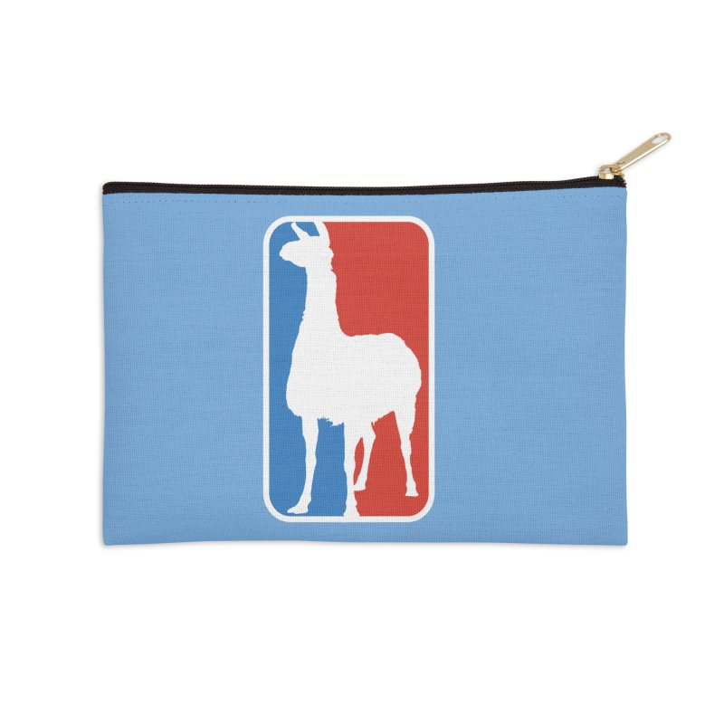 Llama Players Accessories Zip Pouch by HIDENbehindAroc's Shop