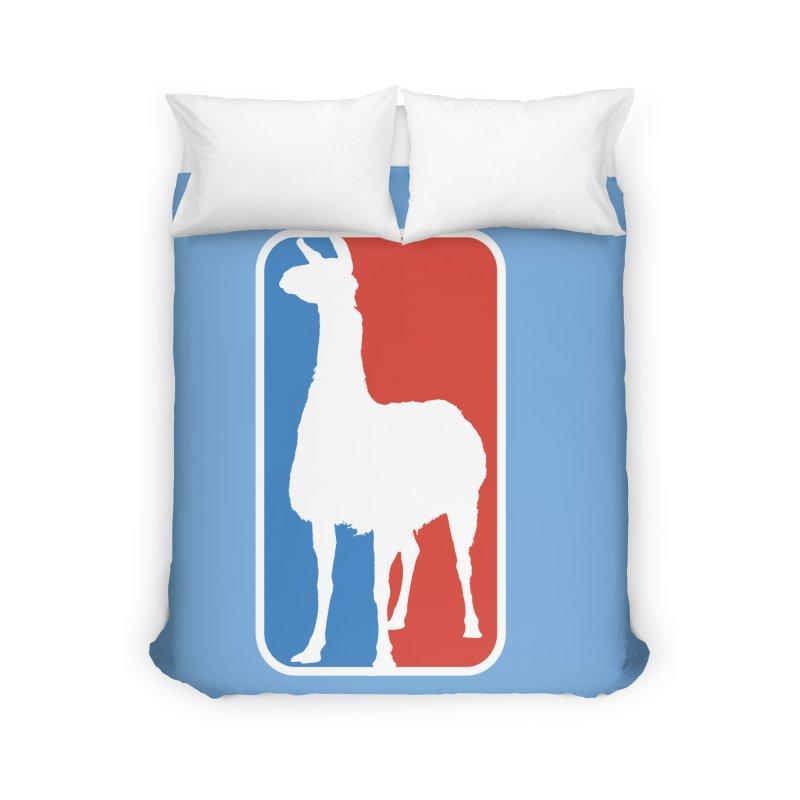 Llama Players Home Duvet by HIDENbehindAroc's Shop