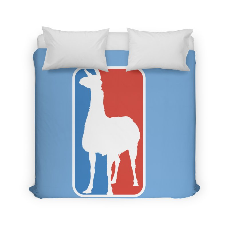 Llama Players Home Duvet by HIDENbehindAroc's Shop