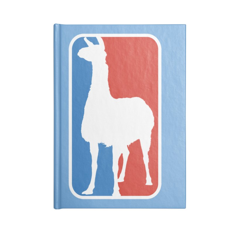 Llama Players Accessories Lined Journal Notebook by HIDENbehindAroc's Shop