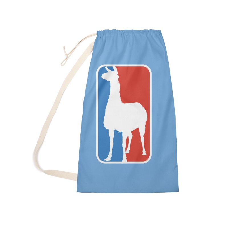 Llama Players Accessories Laundry Bag Bag by HIDENbehindAroc's Shop