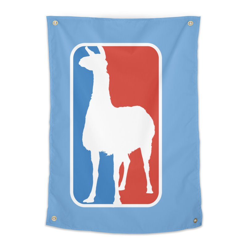 Llama Players Home Tapestry by HIDENbehindAroc's Shop