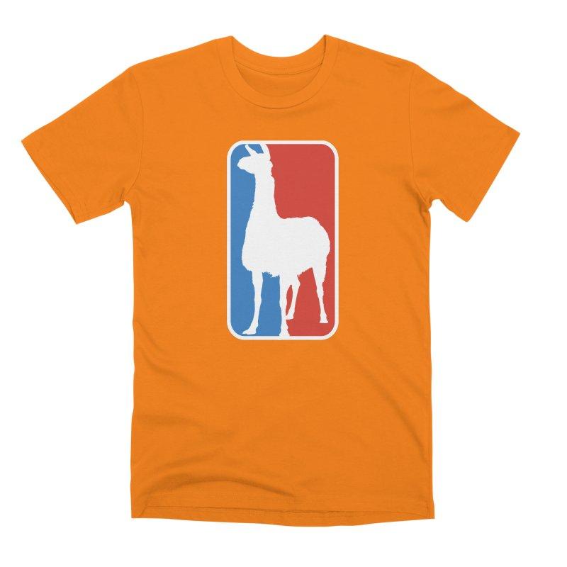 Llama Players Men's Premium T-Shirt by HIDENbehindAroc's Shop