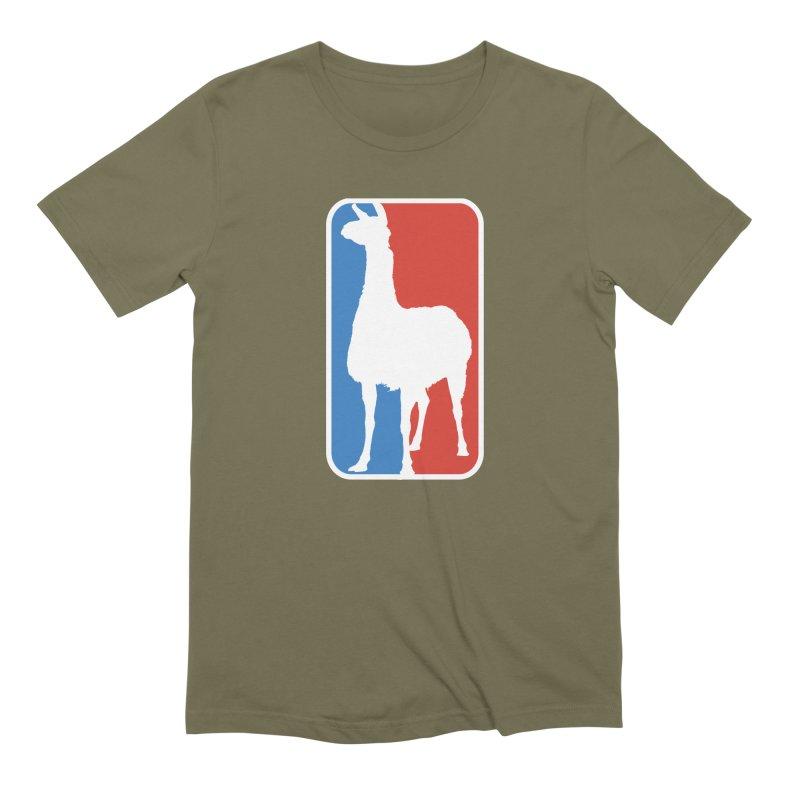 Llama Players Men's Extra Soft T-Shirt by HIDENbehindAroc's Shop