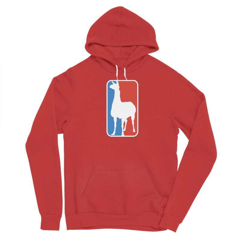 Llama Players Men's Pullover Hoody by HIDENbehindAroc's Shop