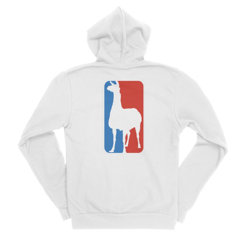 Llama Players Men's Sponge Fleece Zip-Up Hoody by HIDENbehindAroc's Shop