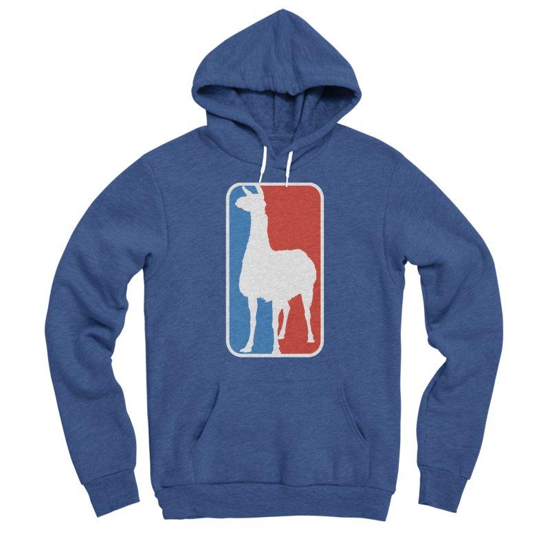 Llama Players Men's Sponge Fleece Pullover Hoody by HIDENbehindAroc's Shop
