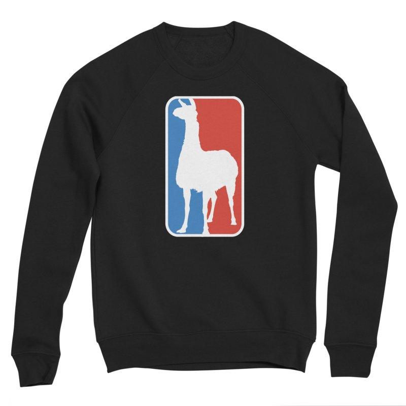 Llama Players Men's Sponge Fleece Sweatshirt by HIDENbehindAroc's Shop