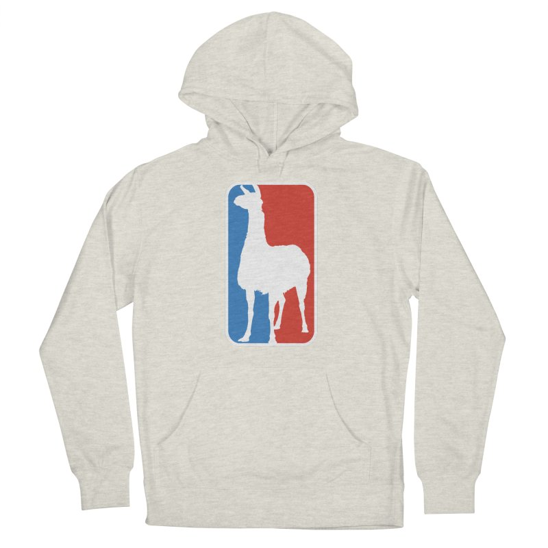 Llama Players Men's French Terry Pullover Hoody by HIDENbehindAroc's Shop