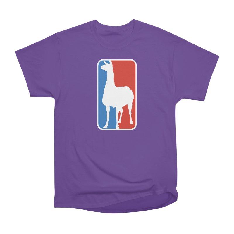 Llama Players Women's Heavyweight Unisex T-Shirt by HIDENbehindAroc's Shop