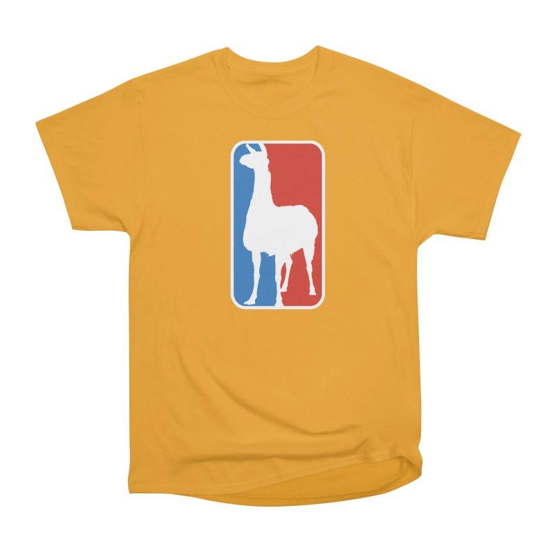 Llama Players Men's Heavyweight T-Shirt by HIDENbehindAroc's Shop