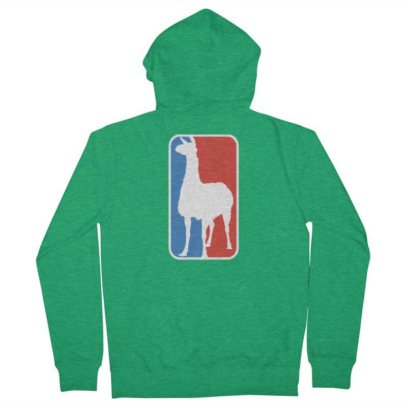 Llama Players Women's Zip-Up Hoody by HIDENbehindAroc's Shop
