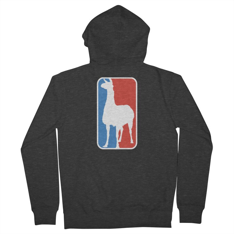 Llama Players Women's French Terry Zip-Up Hoody by HIDENbehindAroc's Shop