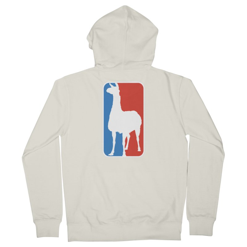 Llama Players Men's French Terry Zip-Up Hoody by HIDENbehindAroc's Shop