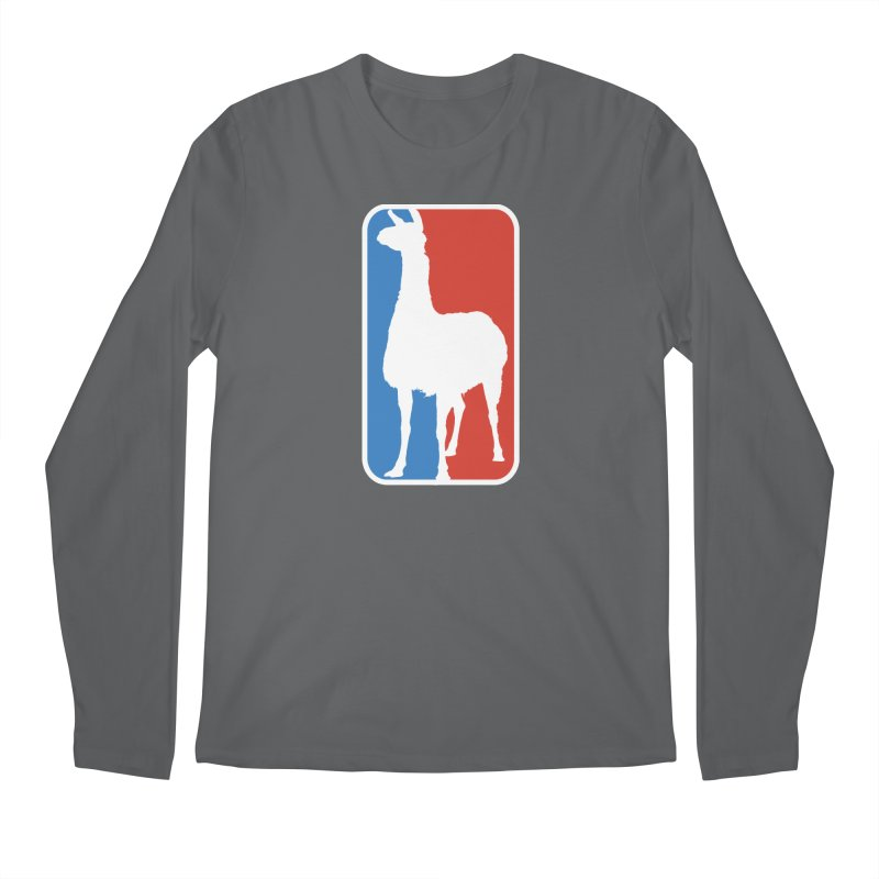 Llama Players Men's Longsleeve T-Shirt by HIDENbehindAroc's Shop