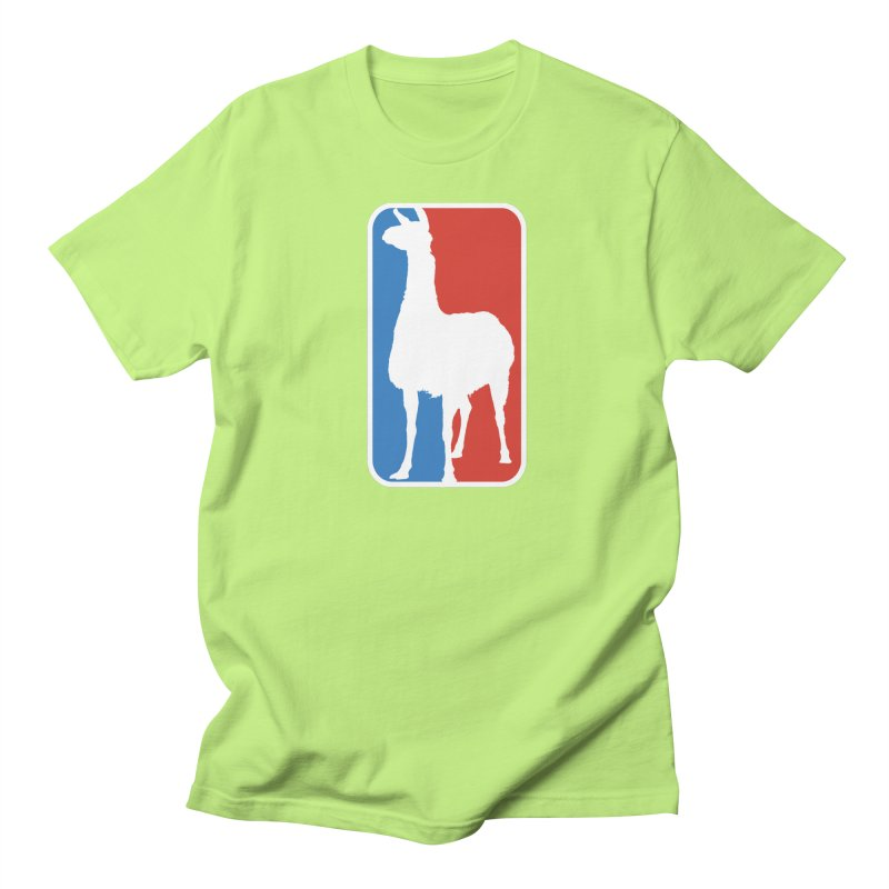 Llama Players Men's Regular T-Shirt by HIDENbehindAroc's Shop