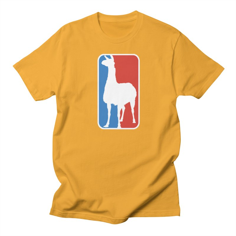Llama Players Men's T-Shirt by HIDENbehindAroc's Shop