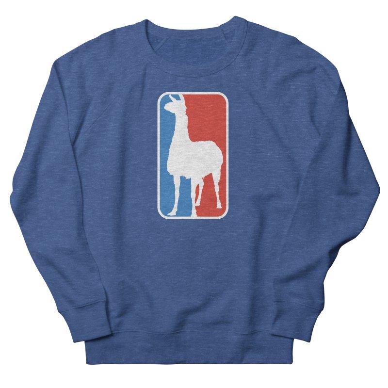 Llama Players Women's French Terry Sweatshirt by HIDENbehindAroc's Shop