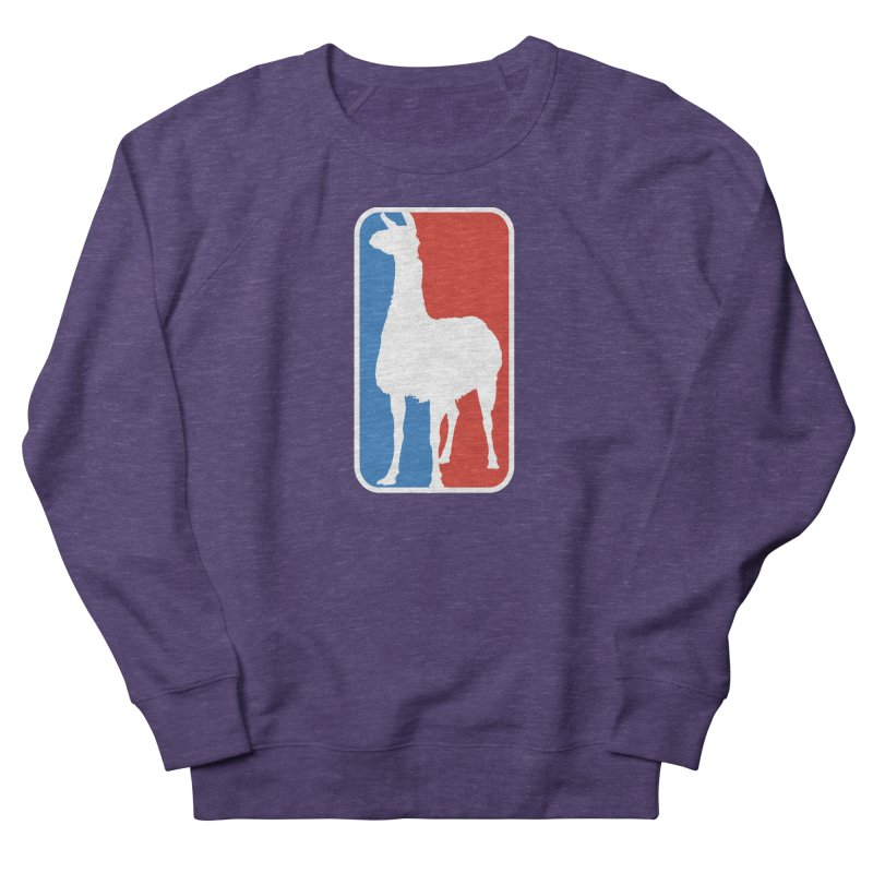 Llama Players Men's French Terry Sweatshirt by HIDENbehindAroc's Shop
