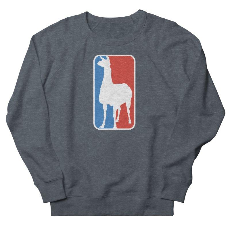 Llama Players Men's French Terry Sweatshirt by HIDENbehindAroc's Shop
