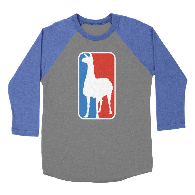 Llama Players Women's Baseball Triblend Longsleeve T-Shirt by HIDENbehindAroc's Shop