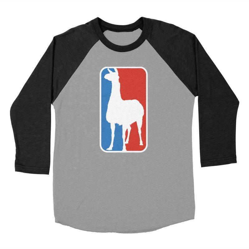 Llama Players Men's Baseball Triblend Longsleeve T-Shirt by HIDENbehindAroc's Shop