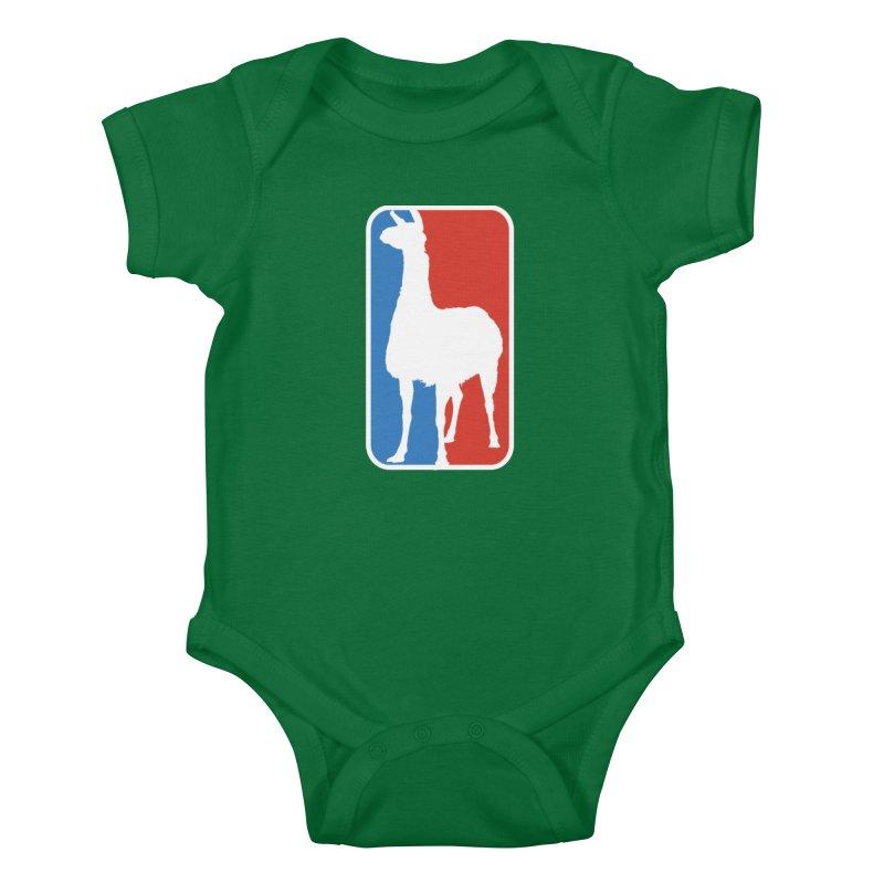 Llama Players Kids Baby Bodysuit by HIDENbehindAroc's Shop