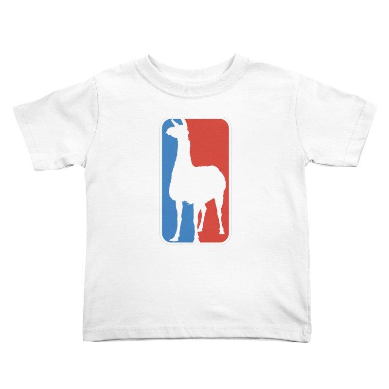 Llama Players Kids Toddler T-Shirt by HIDENbehindAroc's Shop