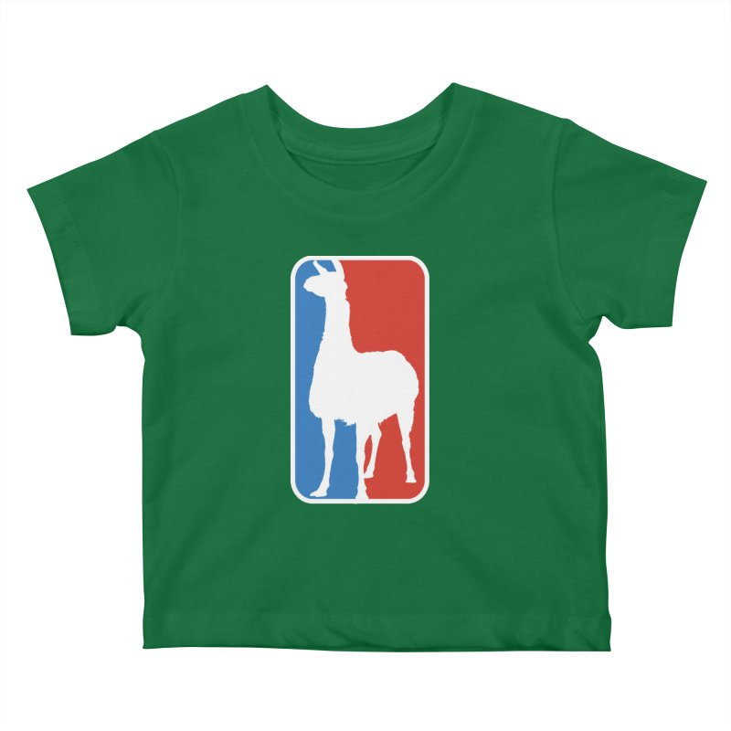 Llama Players Kids Baby T-Shirt by HIDENbehindAroc's Shop