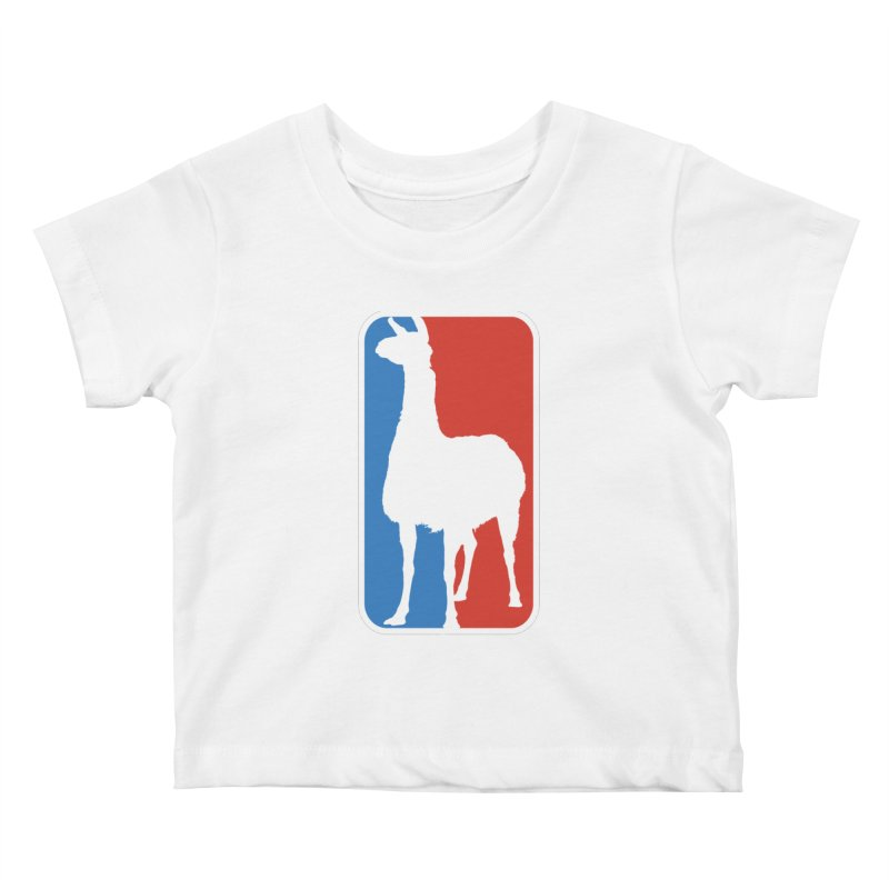 Llama Players Kids Baby T-Shirt by HIDENbehindAroc's Shop