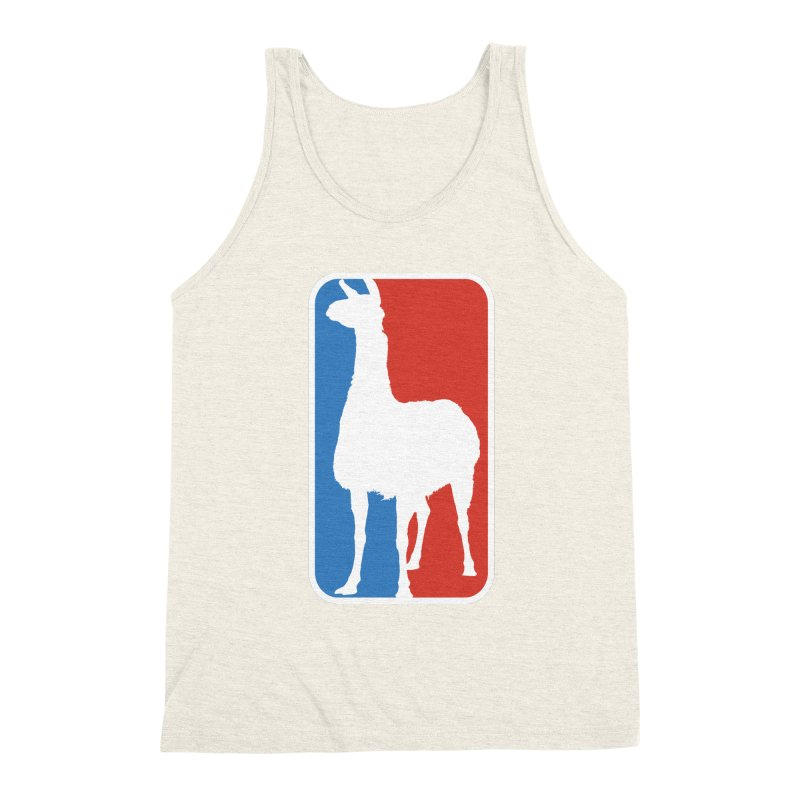 Llama Players Men's Triblend Tank by HIDENbehindAroc's Shop