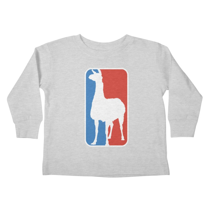 Llama Players Kids Toddler Longsleeve T-Shirt by HIDENbehindAroc's Shop
