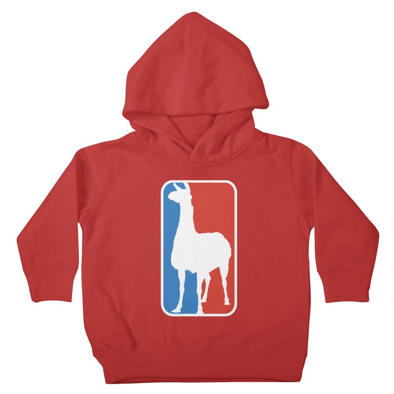 Llama Players Kids Toddler Pullover Hoody by HIDENbehindAroc's Shop