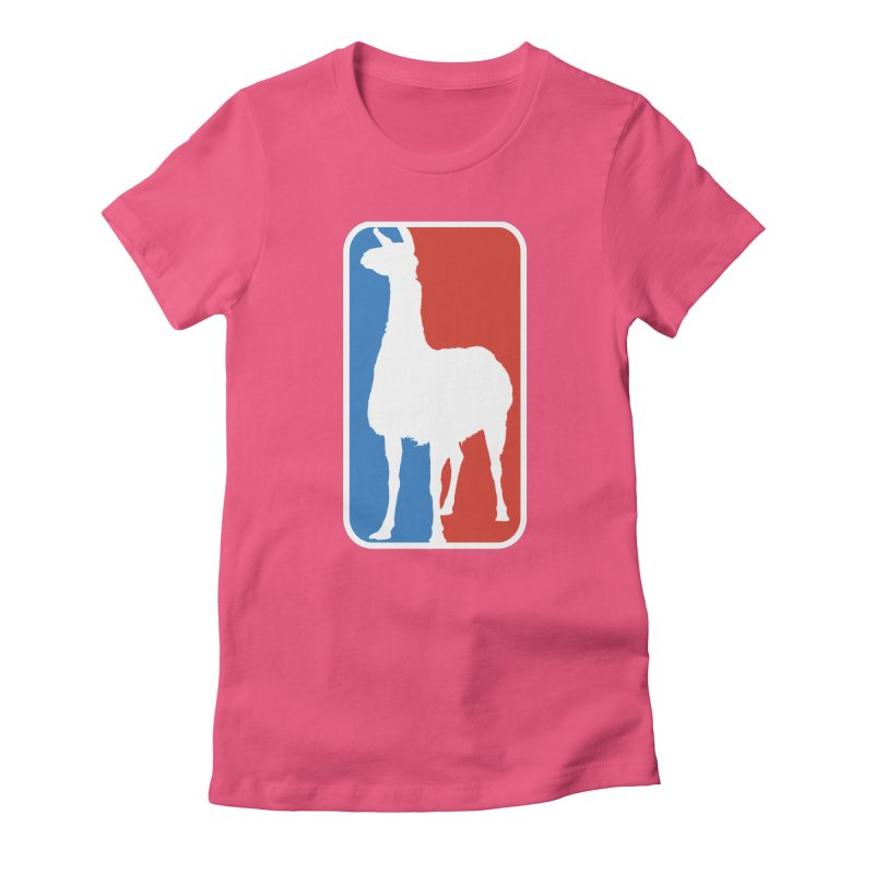 Llama Players Women's T-Shirt by HIDENbehindAroc's Shop