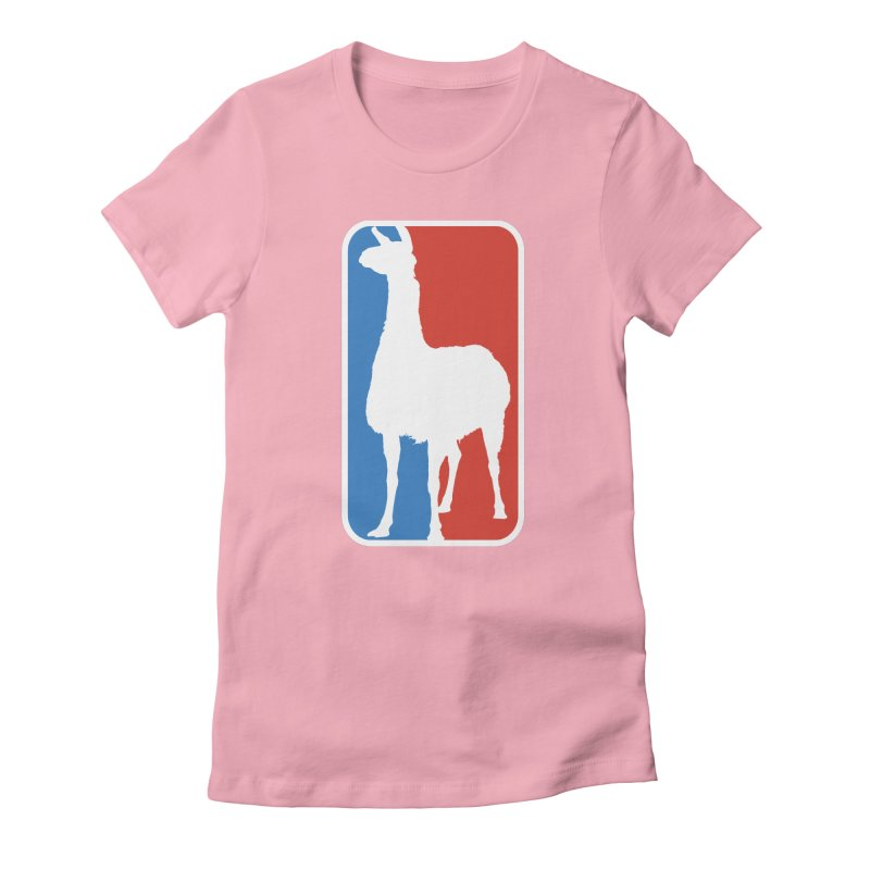 Llama Players Women's Fitted T-Shirt by HIDENbehindAroc's Shop