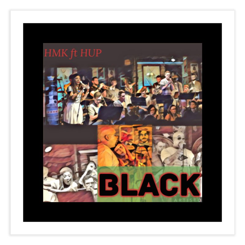 BLACK Home Fine Art Print by HMKALLDAY's Artist Shop