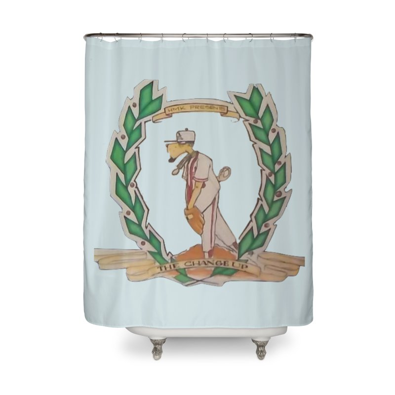 The Changeup Home Shower Curtain by HMKALLDAY's Artist Shop
